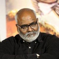 M. M. Keeravani - Baahubali 2 Trailer Launch Photos