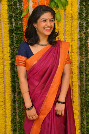 Actress Supriya Aysola In Saree Photos