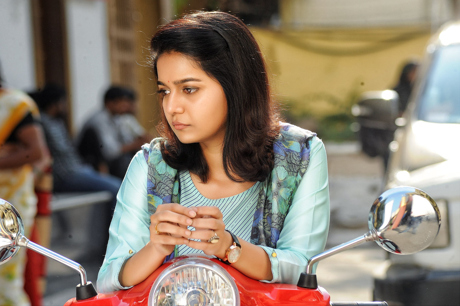 Swathi @ London Babulu Movie Stills