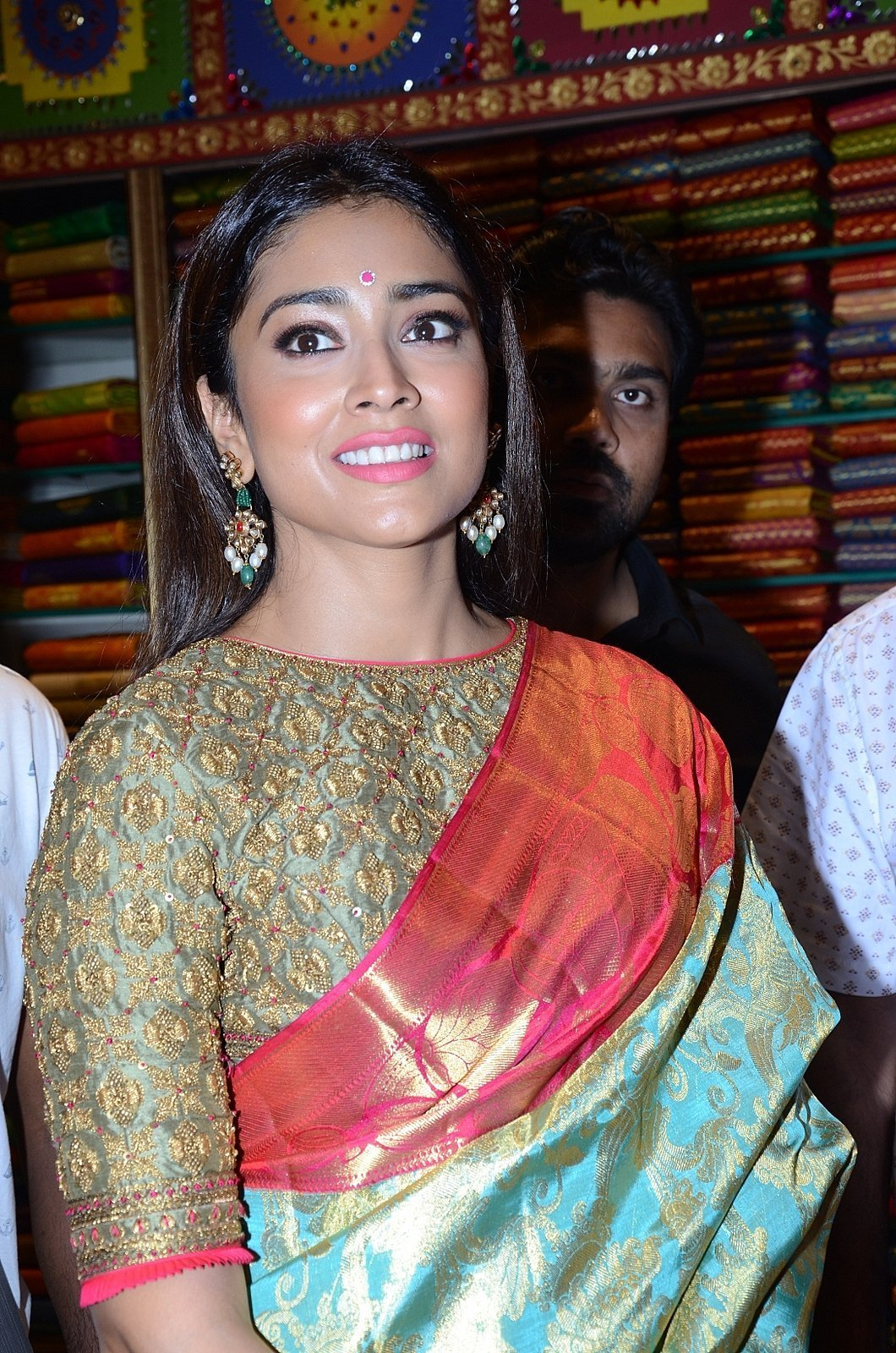 Shriya Saran at VRK Silks Event Photos