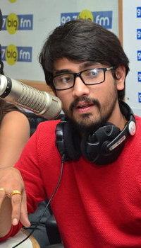 Raj Tarun - Andhhagadu Movie Promotions in Big FM Photos