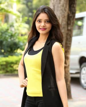 Aishwarya Gorak Stills at The Prank Movie Logo Launch