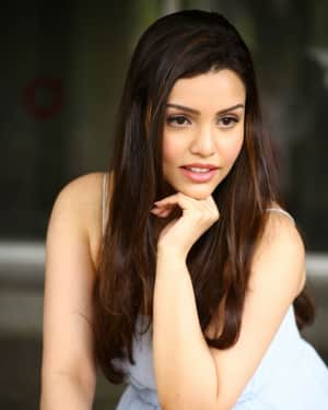 Kyra Dutt during Press Meet Of Telugu Film Ego Photos