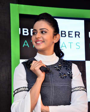 Rakul Preet Singh Hot at Uber Eat Launch Event Photos | 1544553