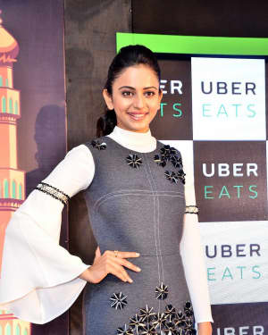 Rakul Preet Singh Hot at Uber Eat Launch Event Photos | 1544555