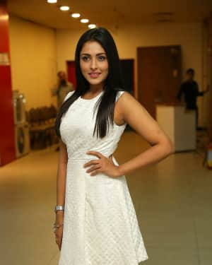 Actress Madhu Shalini at London Babulu Premiere Show Photos