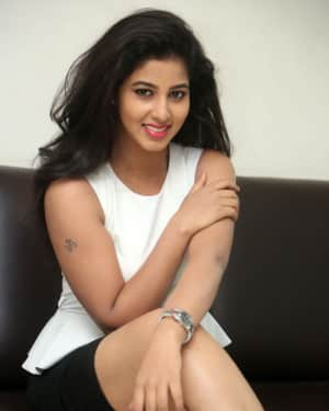 Pavani Hot Photoshoot during Lovers Club Movie Interview