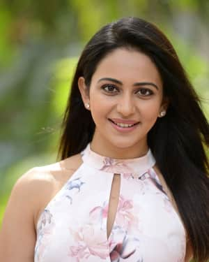 Rakul Preet Singh at Khakee Success Meet Photos