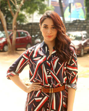 Actress Tamanna Bhatia at Queen Movie Launch Photos | Picture 1532356