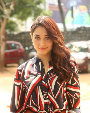 Actress Tamanna Bhatia at Queen Movie Launch Photos | Picture 1532355