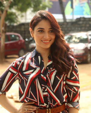 Actress Tamanna Bhatia at Queen Movie Launch Photos