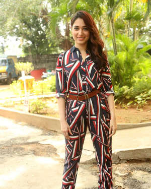Actress Tamanna Bhatia at Queen Movie Launch Photos | Picture 1532344