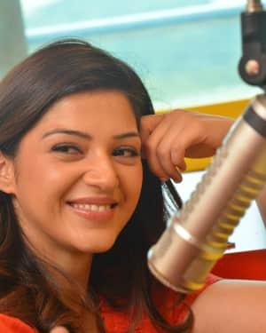 Mehreen Kaur - Raja The Great Movie Team At Radio Mirchi Photos | Picture 1532819