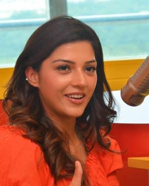 Mehreen Kaur - Raja The Great Movie Team At Radio Mirchi Photos | Picture 1532816