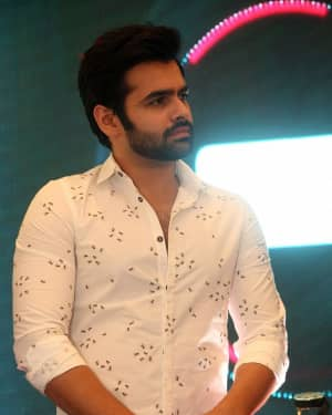 Ram Pothineni - Radio City Cine Awards Curtain Raiser 2017 Photos