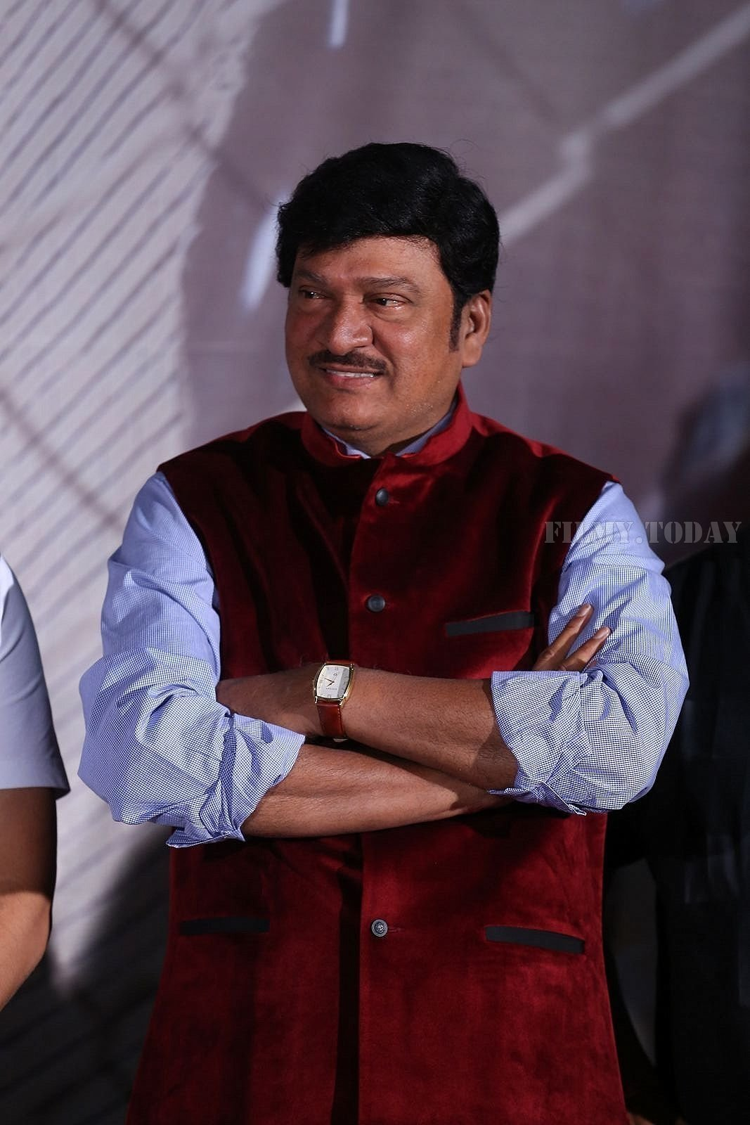 Rajendra Prasad - Raja The Great Movie Theatrical Trailer Launch Photos | Picture 1534007