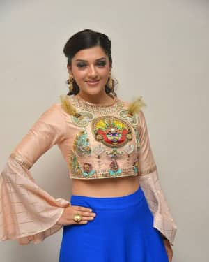Mehreen Kaur - Raja The Great Movie Theatrical Trailer Launch Photos | Picture 1533940