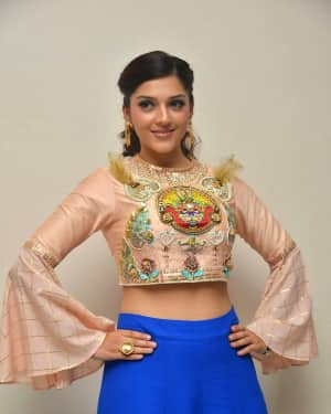 Mehreen Kaur - Raja The Great Movie Theatrical Trailer Launch Photos | Picture 1533942