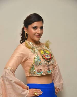 Mehreen Kaur - Raja The Great Movie Theatrical Trailer Launch Photos | Picture 1533945