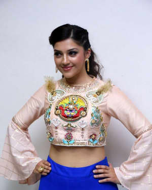 Mehreen Kaur - Raja The Great Movie Theatrical Trailer Launch Photos   Picture 1533979