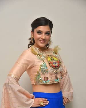 Mehreen Kaur - Raja The Great Movie Theatrical Trailer Launch Photos | Picture 1533943