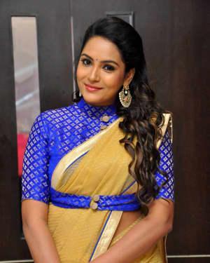 Actress Himaja at Next Nuvve Audio Launch Photos