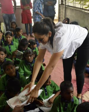 Rakul Preeth Singh Birthday Celebrations at Cherish Orphanage Home Photos | Picture 1535180