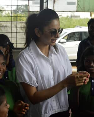 Rakul Preeth Singh Birthday Celebrations at Cherish Orphanage Home Photos | Picture 1535178
