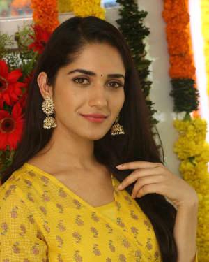 Actress Ruhani Sharma at Chi La Sow Movie Opening Photos
