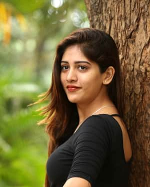 Actress Chandini Chowdary at Howrah Bridge Movie Teaser Launch Photos