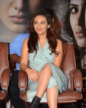 Seerat Kapoor at Raju Gari Gadhi 2 Movie Success Meet Photos | Picture 1536985