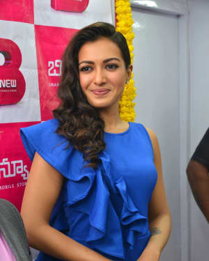 Catherine Tresa Launches B New Mobile Store at Eluru Photos