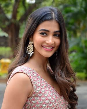Pooja Hegde - Sakshyam Movie Motion Poster Launch Photos