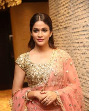 Lavanya Tripathi at Vunnadi Okate Zindagi Movie Pre Release Function Photos