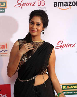 Actress Sindhu Affan at Mirchi Awards 2017 Photos | Picture 1525461