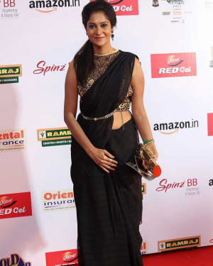 Actress Sindhu Affan at Mirchi Awards 2017 Photos | Picture 1525445