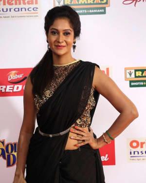 Actress Sindhu Affan at Mirchi Awards 2017 Photos | Picture 1525458