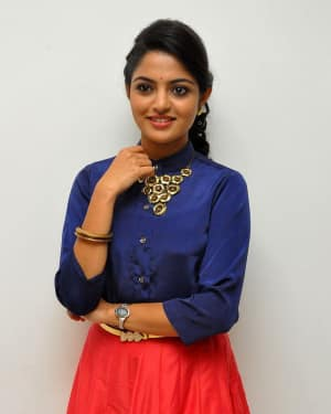 Actress Nikhila Vimal at Meda Meeda Abbayi Movie Pre Release Function Photos | Picture 1525541