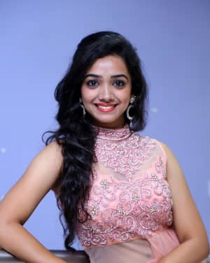Actress Meghna Mandumula Stills at Gulal Motion Poster Launch