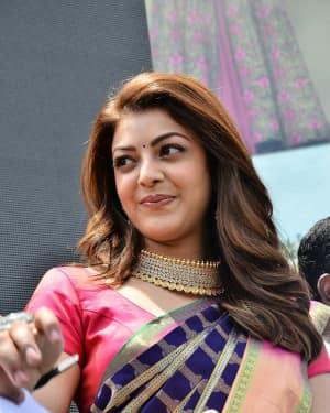 Kajal Aggarwal - Chay, Kajal at Chennai Shopping Mall Opening Photos