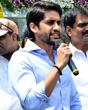 Chay, Kajal at Chennai Shopping Mall Opening Photos