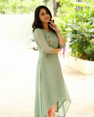 Actress Miya George Stills during Interview For Ungarala Rambabu | Picture 1527267