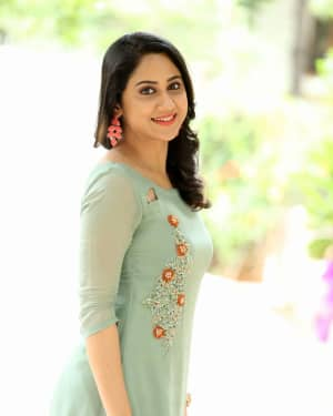 Actress Miya George Stills during Interview For Ungarala Rambabu | Picture 1527271