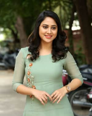 Actress Miya George Stills during Interview For Ungarala Rambabu | Picture 1527275