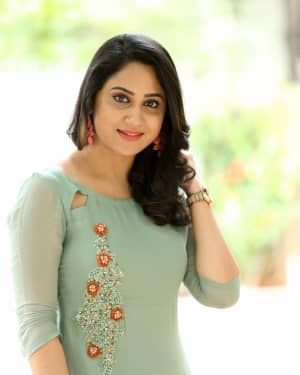 Actress Miya George Stills during Interview For Ungarala Rambabu | Picture 1527273