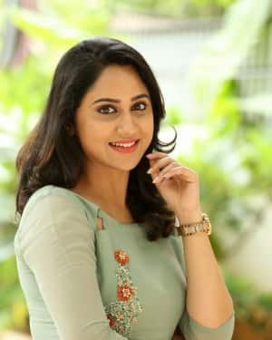 Actress Miya George Stills during Interview For Ungarala Rambabu | Picture 1527261