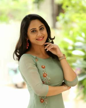 Actress Miya George Stills during Interview For Ungarala Rambabu | Picture 1527268