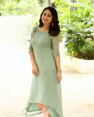 Actress Miya George Stills during Interview For Ungarala Rambabu | Picture 1527265