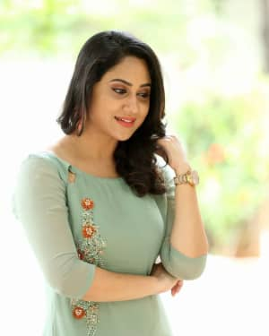 Actress Miya George Stills during Interview For Ungarala Rambabu | Picture 1527274