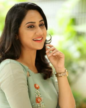Actress Miya George Stills during Interview For Ungarala Rambabu | Picture 1527260